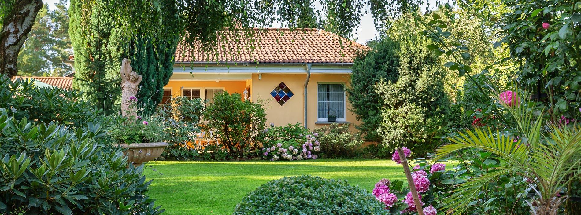 Immobilie Haus Garten