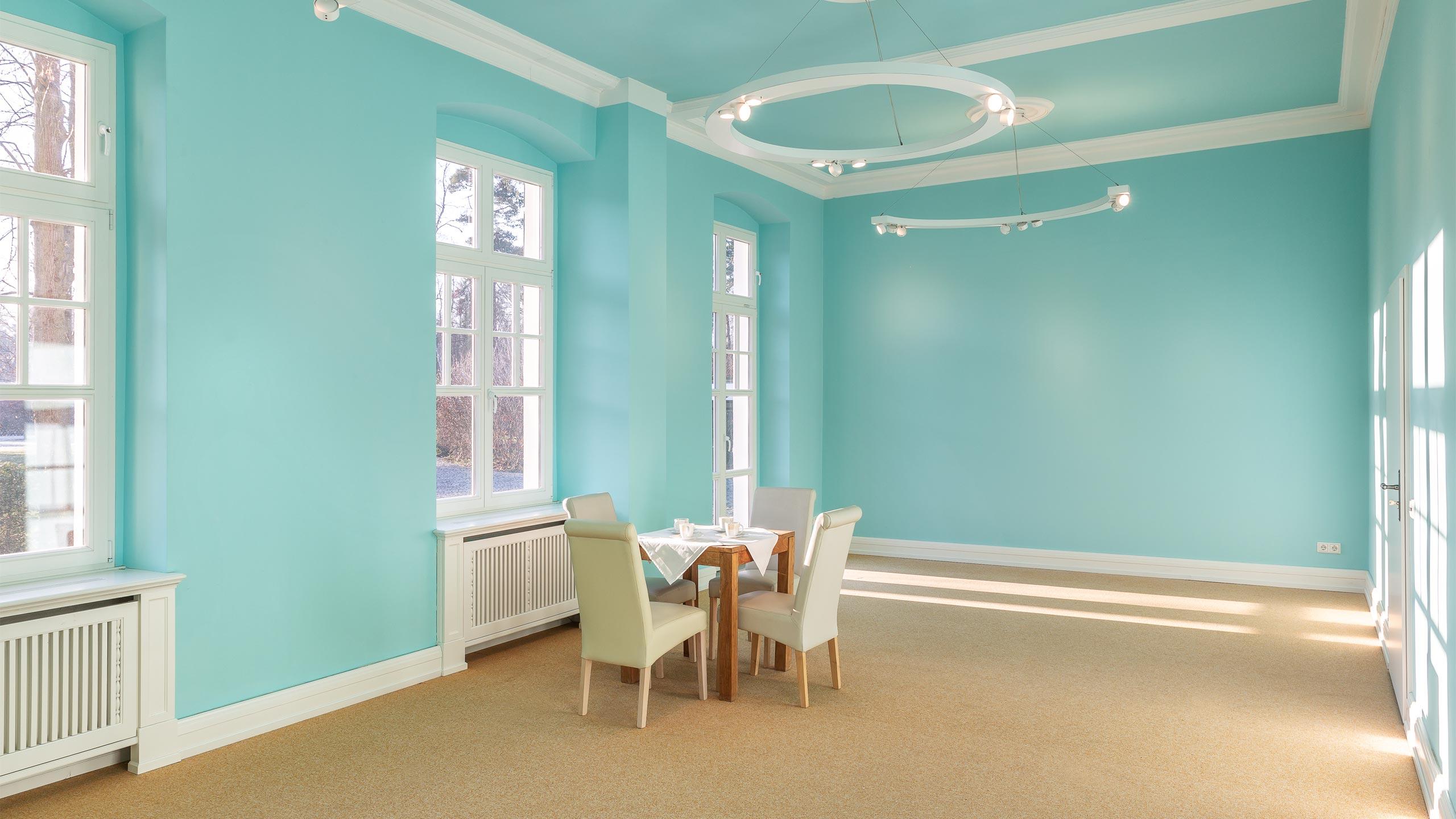 Hubertushöhe Blaue Zimmer